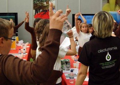 Actividades para niños alrededor del aceite de oliva virgen extra